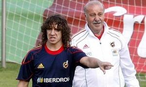 Del Bosque: Puyol długo nie grał i dlatego nie ma go na liście