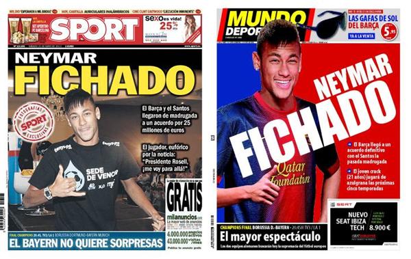 Neymar fichado