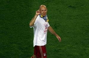 Robben: Musimy zakończyć zadanie 25 maja