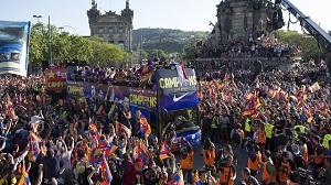 Barcelona w barwach azulgrana