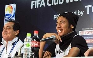 Muricy: Chce zobaczyć Neymara grającego z Messim