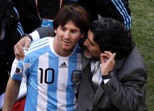 Messi doścignął Maradonę