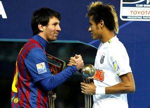 Messi o kontrakcie Neymara
