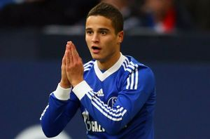 Ibrahim Afellay w FC Schalke 04.