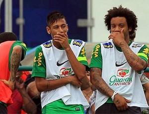 Cafu i Marcelo o transferze Neymara