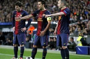 Xavi, Valdés, Puyol, Iniesta i Messi – pokolenie Super Mistrzów