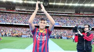 Neymar nowym idolem na Camp Nou