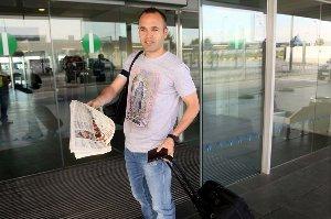 Zawodnicy Barçy w drodze do Madrytu