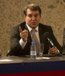 Konferencja prasowa Joana Laporty