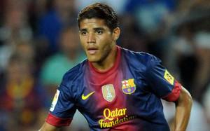 Jonathan Dos Santos w barwach Barcelony