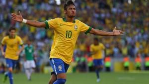Wspaniałe akcje Neymara zapewniły Brazylii zwycięstwo