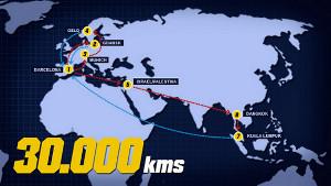 30 tysięcy kilometrów do pokonania w presezonie