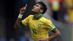 Bramka Neymara i pierwsze miejsce dla Brazylii