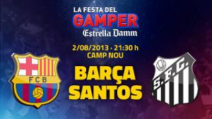 Santos rywalem Barçy w Pucharze Gampera