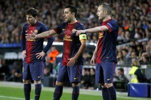 Messi, Xavi, Iniesta znów najlepsi