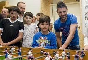 Villa: Jestem szczęśliwy w Barçy