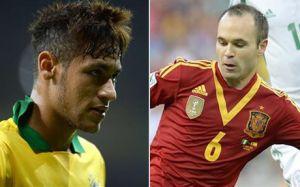 Neymar i Iniesta powalczą o nagrodę MVP