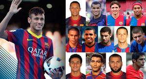 Neymar – 24. Brazylijczyk w Barcelonie