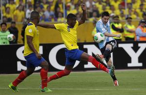 Argentyna remisuje z Ekwadorem