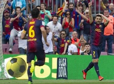Wygrana dla Abiego: FC Barcelona 4-1 Málaga