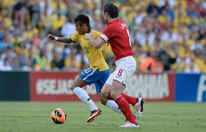 Anglia zremisowała z Brazylią