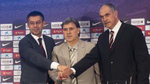 Zubizarreta: Martino rozwinie ideę futbolu Barçy