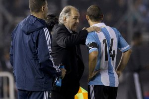Sabella i Mascherano w reprezentacji Argentyny