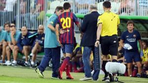 Cristian Tello nie zagra w Pucharze Gampera