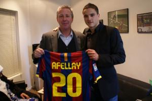 Rob Jensen: Afellay pozostanie w Barcelonie