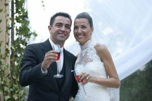 Xavi na ślubnym kobiercu
