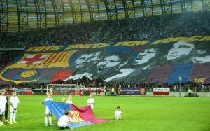 Świetna oprawa meczu w Gdańsku