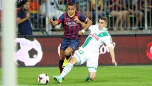 Statystyki z meczu Lechia – Barcelona