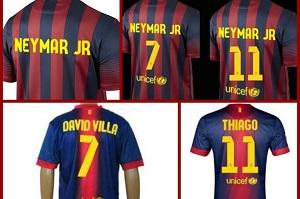 """Neymar z """"7"""" lub """"11"""" na koszulce"""