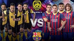 Kuala Lumpur gotowe na wizytę FC Barcelony