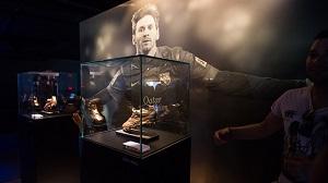 Specjalna przestrzeń w muzeum poświęcona Leo Messiemu