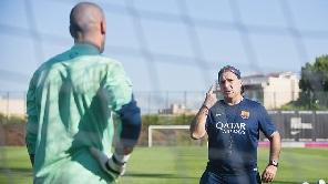 Drugi trening reprezentantów Barçy