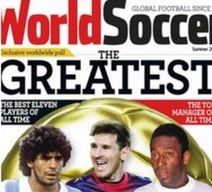Messi w najlepszej jedenastce w historii