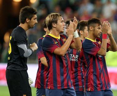 Bramki, remis i Neymar: Lechia Gdańsk 2-2 FC Barcelona