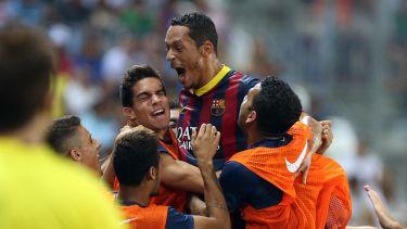 Cudowne trafienie zapewnia zwycięstwo: Málaga – FC Barcelona (0:1)