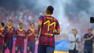 Neymar i Tata Martino zaprezentowani w sezonie 2013/14