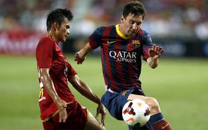 Messi najlepszym strzelcem Barçy w presezonie