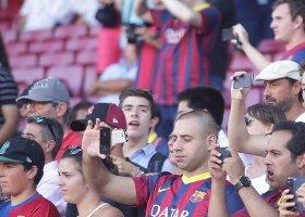 Rekord sprzedaży biletów w meczu Barcelony