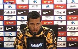 Konferencja prasowa Daniego Alvesa