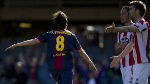 Barça B podejmie Lugo na Miniestadi