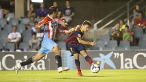 Barça B zdobywa pierwsze trzy punkty