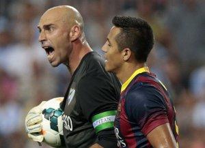 Caballero: Brakowało nam szczęścia, które miała Barça
