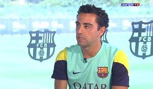 Wywiad z Xavim dla oficjalnej strony FC Barcelony