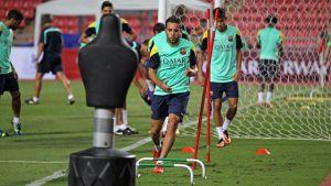 Jordi Alba zadowolony z pracy Martino