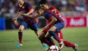 Malezja XI – FC Barcelona; Składy