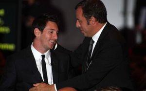 Rosell i Messi udadzą się do Monaco